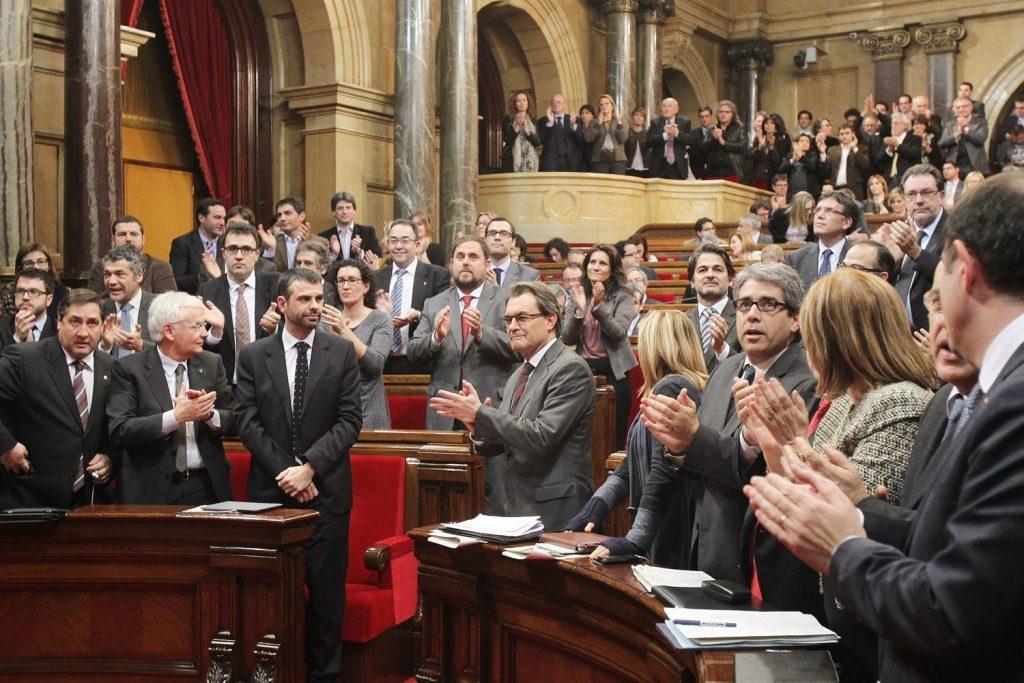 Votacio debat declaracio de sobirania , Parlament de Catalunya, Barcelona 23.01.2013 Fotografia PERE VIRGILI Diari Ara